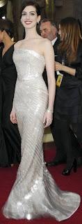 Anne Hathaway at Oscar