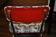 Classic Red Kitchen Chair/Step Stool