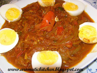 Egg curry for chappathiand appam