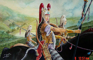 Ancient Iranian Women Warriors