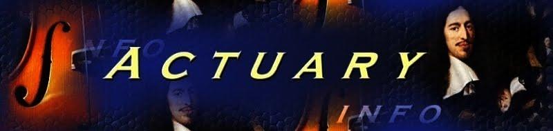 Actuary Info Blog