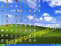 hilangkan shortcut icon desktop