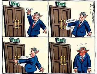 Peter Brookes in the Times 20 Jan 2009
