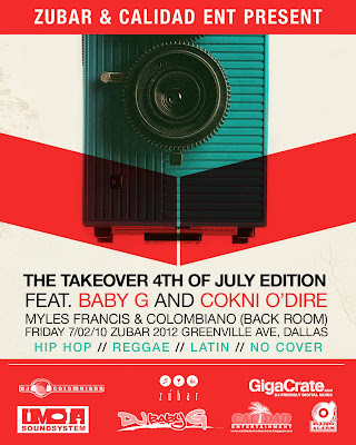 THE TAKEOVER - 4TH OF JULY EDITION P.S.A. MIX BY DJ AV