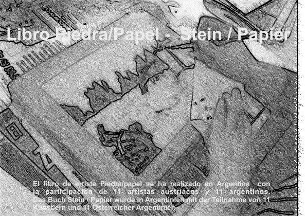 Libro Piedra/Papel -  Stein / Papier