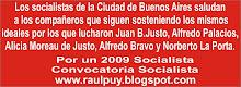 Por un 2009 Socialista