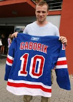 Former Minnesota Wild and current New York Ranger Marian Gaborik