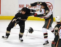 Ducks-Wild fight