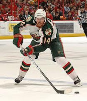 Martin Havlat of the Minnesota Wild