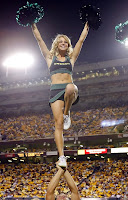 Oregon Cheerleader