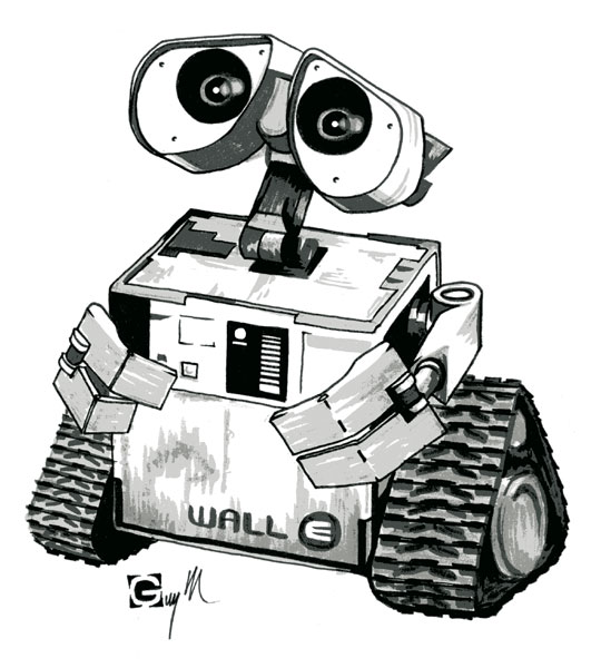stardustonfire: Wall- E: Poesía robótica