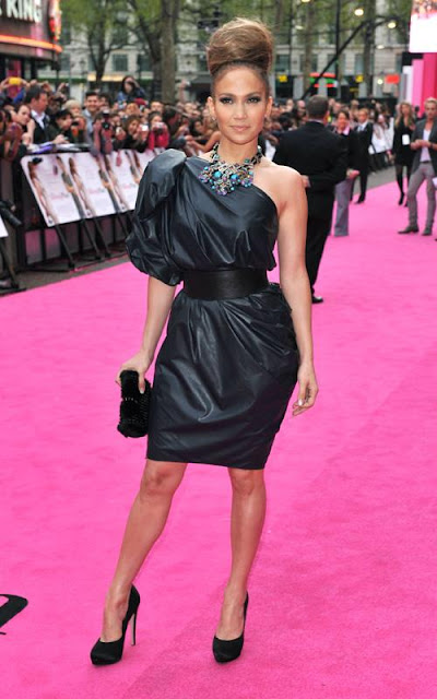 "JLo At The London Premiere of ""The Back-Up Plan""….Do You Like Her Look?"