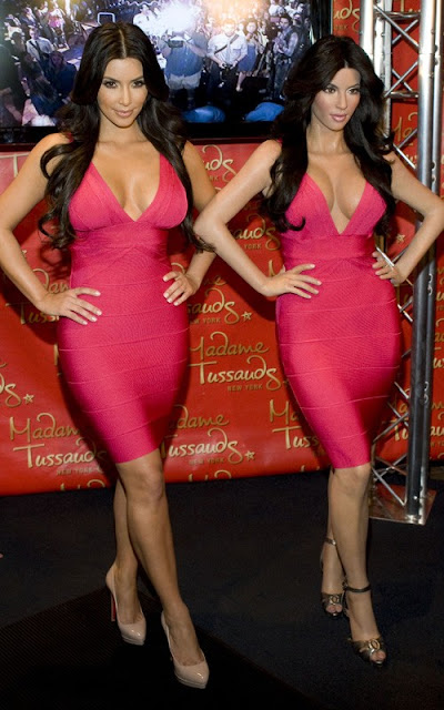 Kim Kardashian's Wax Figure Revealed