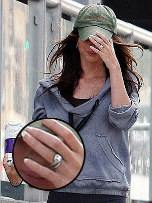 Lights, Camera.....FLASHDANCE!: Megan Fox's Wedding Ring ...