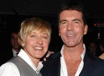 "Simon Cowell Reacts To Ellen's ""Idol"" Departure!"