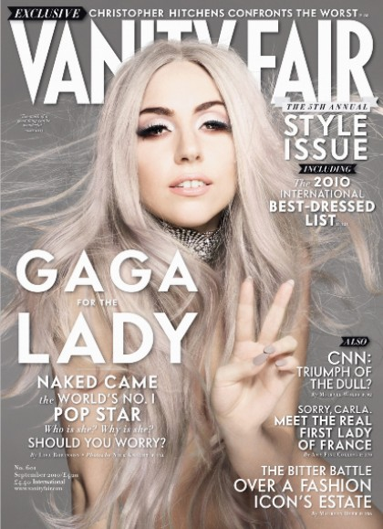 "Lady GaGa Covers ""Vanity Fair"" Magazine"