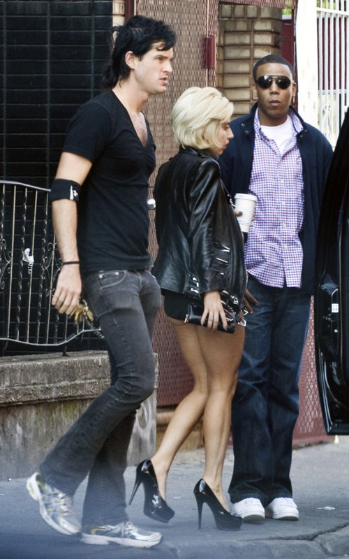 Lady GaGa Azz'd Out With Boyfriend In NYC