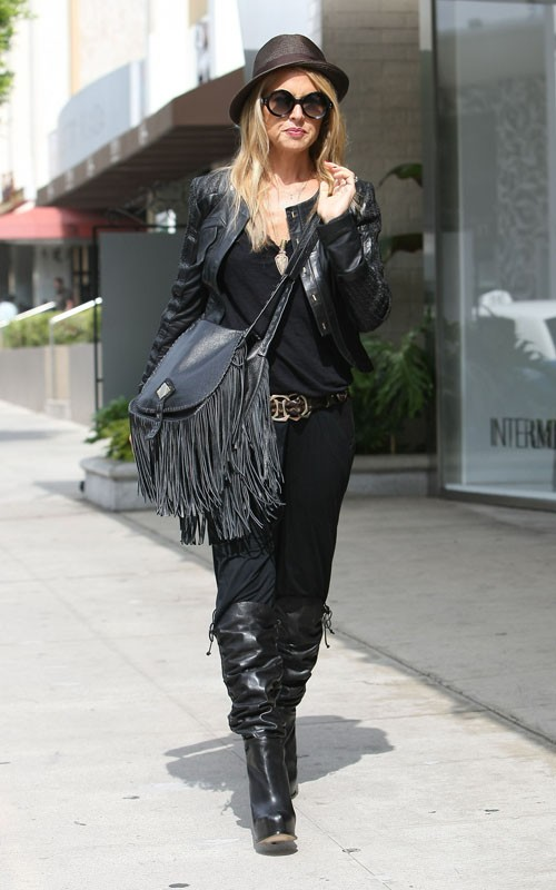 No Baby Bump Yet For Rachel Zoe