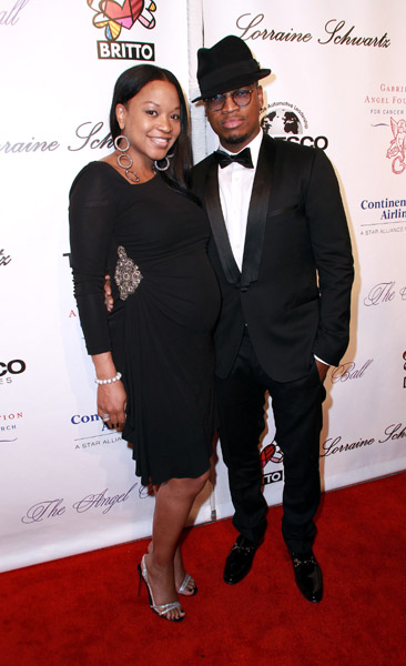 Ne-Yo And Pregnant Girlfriend Hit The 2010 Angel Ball