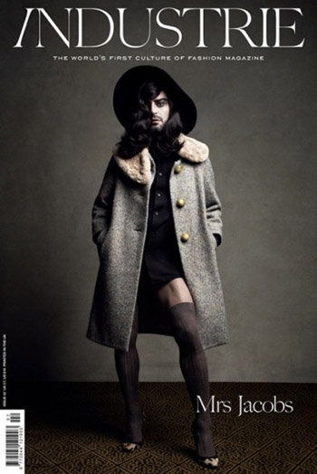 Marc Jacobs Gets In Touch With His TRANNY Side!