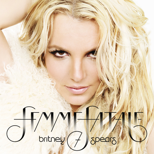 Britney Spears Reveals Album Cover AND Title!!!
