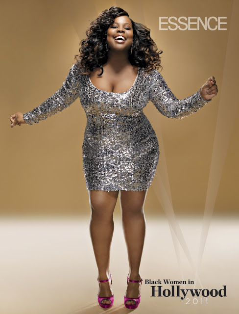 GLEE&#8217;s Amber Riley Is DIVINE In &quot;Essence&quot; Magazine