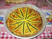 Tortino di formaggi e fagiolini