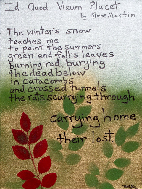 c 2010 Poem by Blaine Martin painted by Rebecca Michelle Lee