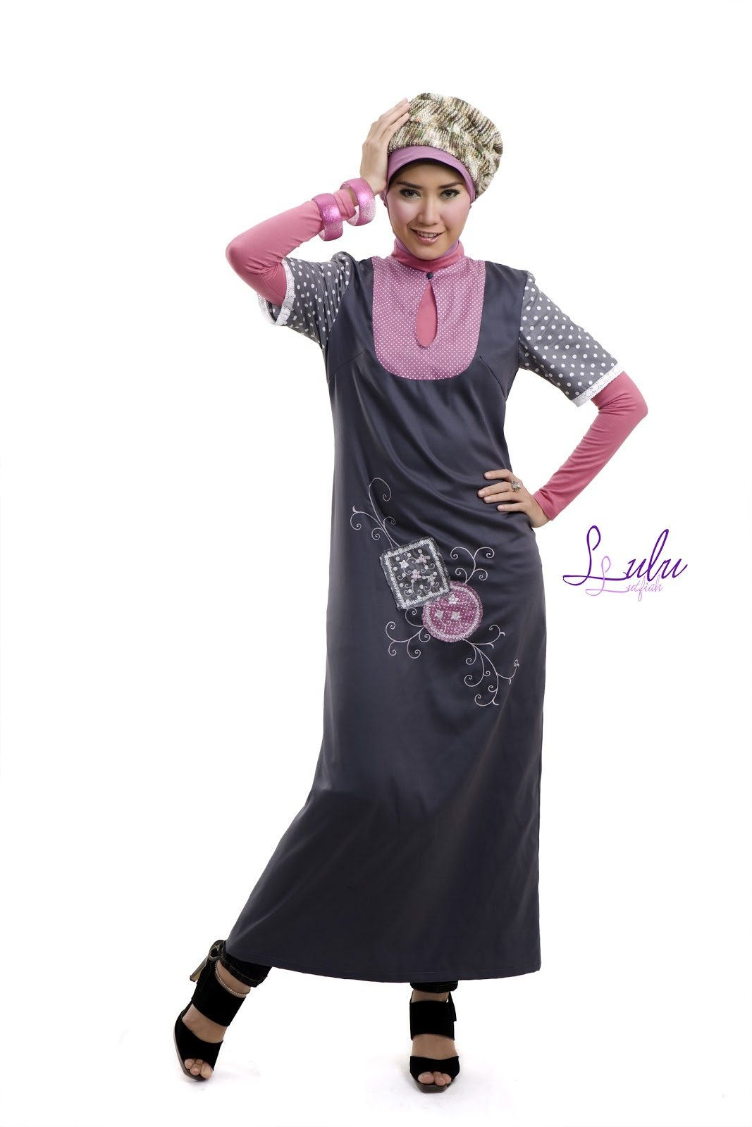 Rins Style : Dusty Pink-Malabis Moslem