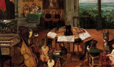 El oído de Jan Brueghel de Velours (detalle)