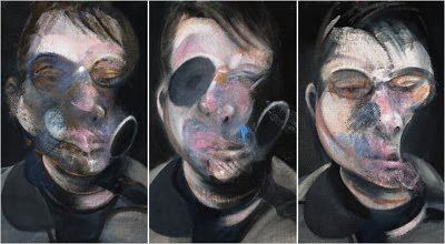 Three Studies for Self-Portrait de Francis Bacon