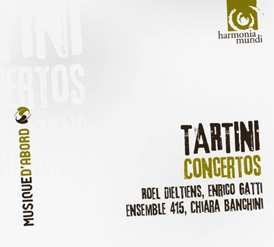 Conciertos de Tartini por el Ensemble 415 de Chiara Banchini