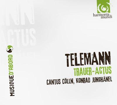El Trauer Actus de Telemann por Junghänel