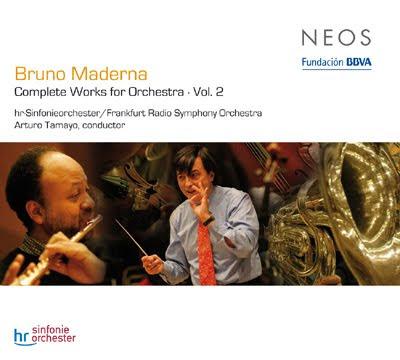 Obra orquestal de Maderna por Arturo Tamayo en el sello Neos (vol.2)