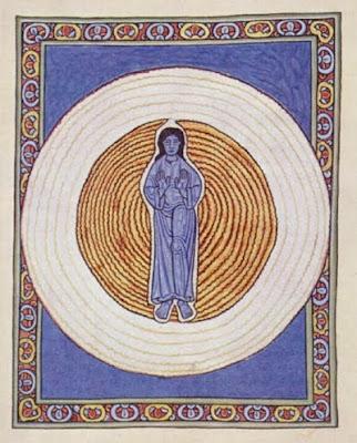 Iluminación de la 'Scivias' de Hildegarda de Bingen