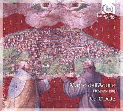 Obras para laúd de Dall'Aquila por Paul O'Dette