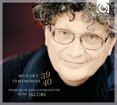 Sinfonías 39 y 40 de Mozart por Jacobs y los Barrocos de Friburgo