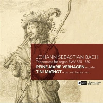 Las Sonatas en trío BWV 525-530 de Bach por Verhagen y Mathot