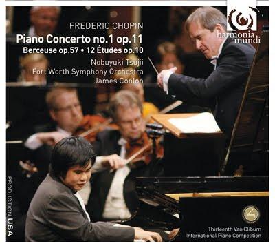 Concierto para piano nº1 de Chopin por Nobuyuki Tsujii y James Conlon