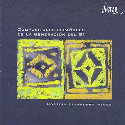 Compositores españoles de la Generación del 51 por Horacio Lavandera