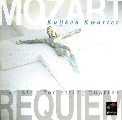 Requiem de Mozart/Lichtenthal por el Cuarteto Kuijken