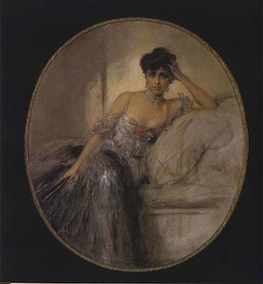 Geraldine Farrar por Friedrich August von Kaulbach