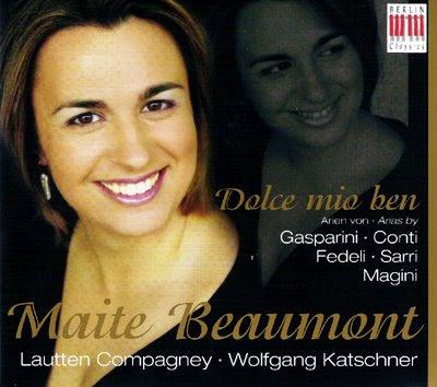Dolce mio ben,  Maite Beaumont