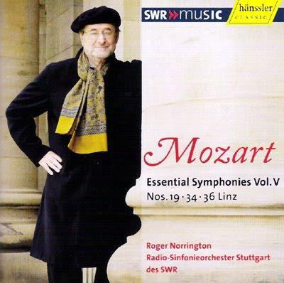 Sinfonías de Mozart por Norrington