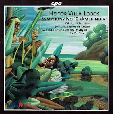 La Sinfonía Amerindia de Villa-Lobos en el sello CPO