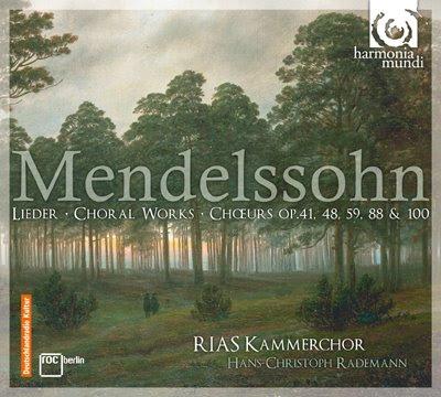 Mendelssohn por el RIAS Kammerchor y Rademann