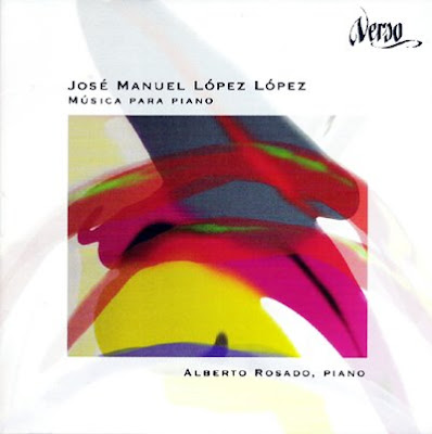 Música para piano de José Manuel López López por Alberto Rosado