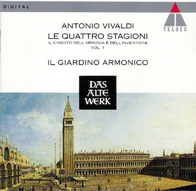 Las cuatro estaciones de Enrico Onofri con Il Giardino Armonico