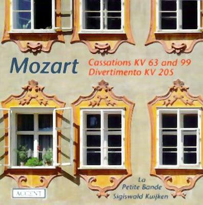 Casaciones y divertimentos de Mozart por La Petite Bande