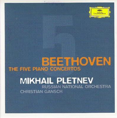 Los conciertos de piano de Beethoven por Mikhail Pletnev